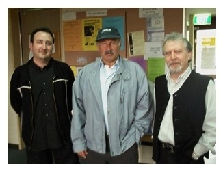 with joe zawinul and tony gould